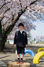 次男の入学式