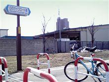 自転車初出動