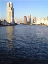 勝鬨橋から隅田川