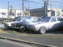 街で見かけた昭和な中古車!!