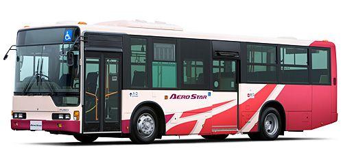 三菱ふそう 大型路線バス エアロスター に ノンステップモデル を 追加 ・・・・