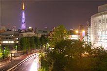 昨夜の東京タワー