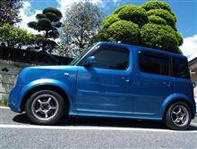 2009年4月26日 キューブ洗車。