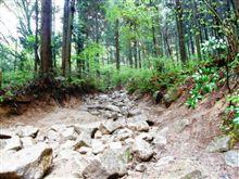 愉快なオヤジ達と岩の険道て゜遊ぶ