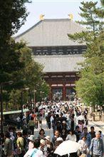 久しぶりの奈良公園