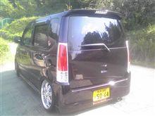洗車完了(*^-')b