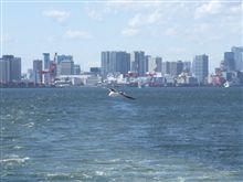 4月26日の海上保安庁観閲式のアップ開始