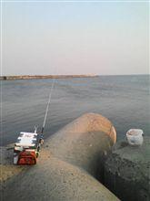 4月30日  日本海で遊んでますw、おはです~♪
