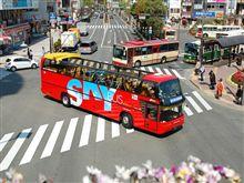 スカイバスの乗車率
