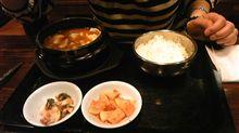 今日は、韓国料理