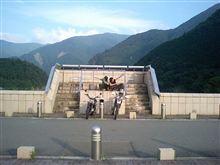 長島ダムへ