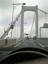 首都高をゆっくりドライブ