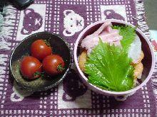 今日の夜ご飯は久々自分で作った(珍しすぎぃ!)