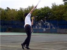 テニスしたい・・・