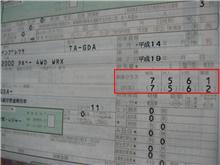 料率クラス/車輌7・対人5・対物6・障害1>インプレッサ