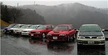 雨男 豪雨の城山湖で再びミーティング。。