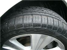 タイヤを交換しました。