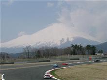SUPER GT 富士合同テストに行ってきました