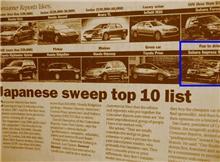 [新車評価] 日本車が全10部門を独占>米国レポート