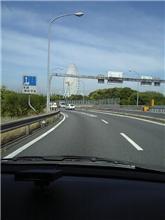 このSAからだと、本日中に大阪に到達するだろうか?