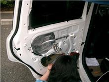 デットニング完成と車高調の具合