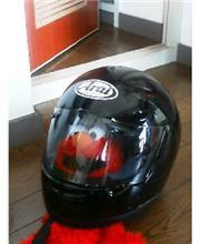ヘルメット到着!