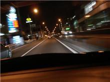 【on board camera】深夜のR246