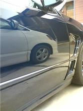 洗車とワックス掛け