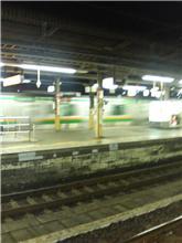 今日は電車通勤なの…