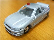 【ミニカー】R33スカイラインGT-R覆面パトカー