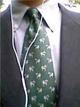 今日のネクタイ