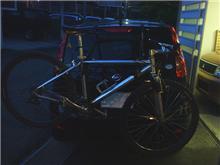 自転車積んでみましたが