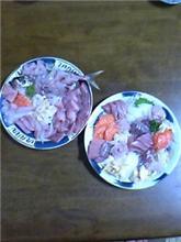 夕食の支度しました。