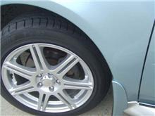タイヤ交換だけでは済まなかった。