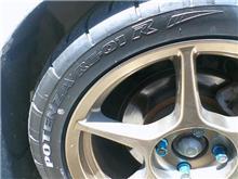 タイヤ交換。(180SX)