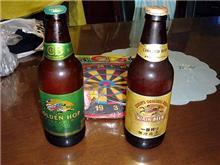 ビールを貰ったの・・・