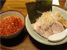 激辛つけ麺(えるびす)