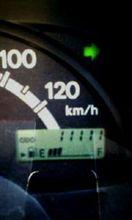 11111km記念