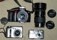 お蔵入りのカメラ達!!
