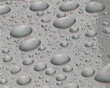 ビューコート後の初雨