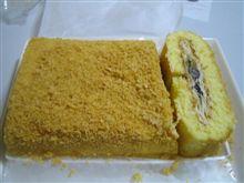 黒豆パイロールケーキ