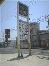 ガソリンの値上げって!