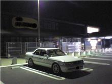 夜のドライブ・・・