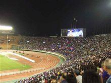 サッカーだけはテレビとスタジアムで見るのは全く別物!!