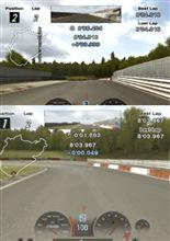 GT4・ニュルで同一タイム!