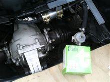 燃料フィルターの交換