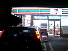 夜のドライブでGet!!( ̄  ̄;)