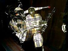 なんばマルイはオシャレなバイクも置いてる