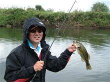 小貝川でバス釣り♪