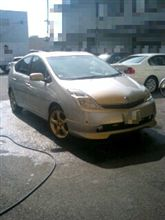 プリウス洗車しました…